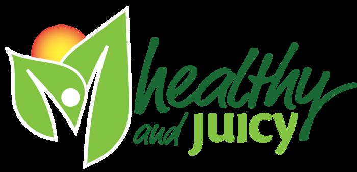 Healthy and Juicy logo