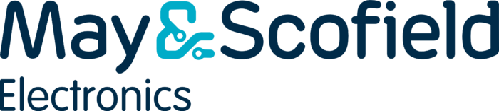 May & Scofield Electronics logo