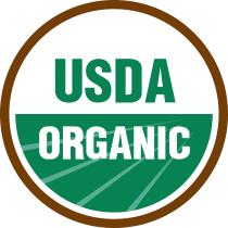 USDA Organic logo, seal