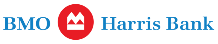 BMO Harris Bank logo, logotype