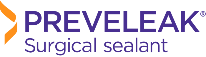 PREVELEAK Surgical sealant logo