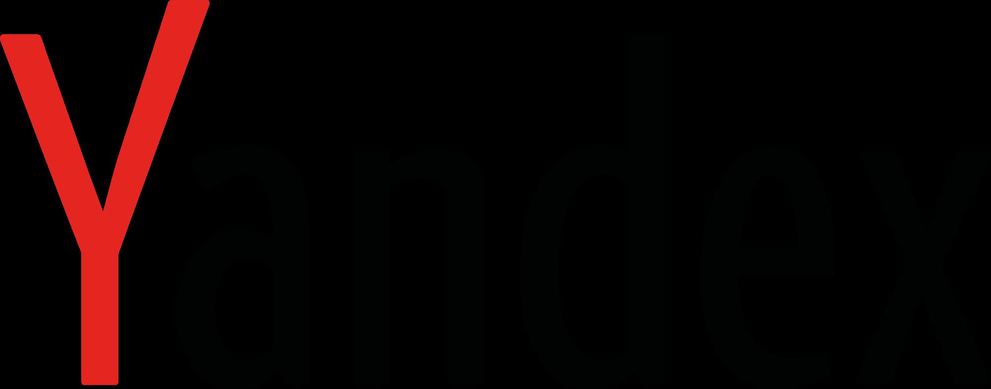 Yandex - Logos Download