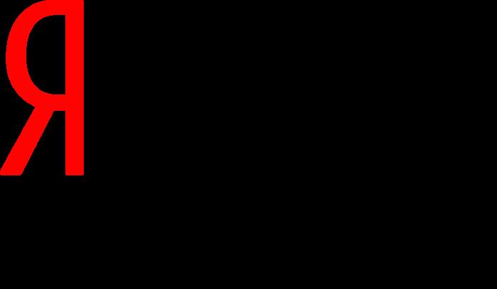 Yandex russian logo