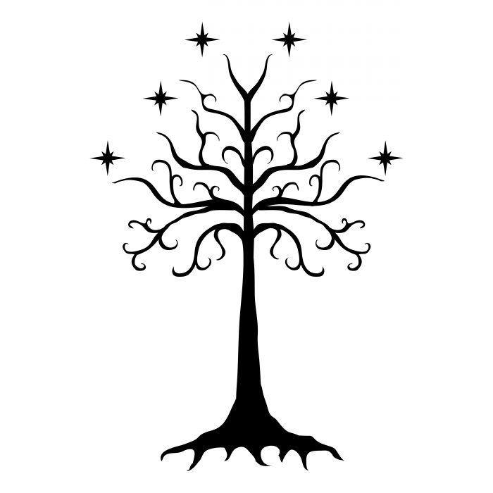 The Lord of the Rings logo tree