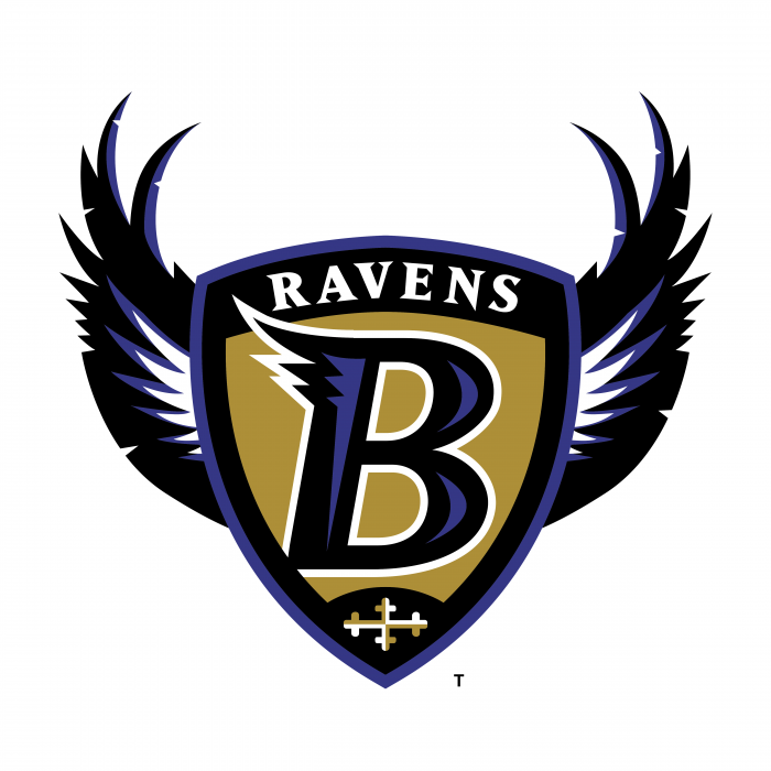 B Ravens logo