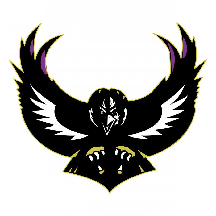 B Ravens logo black