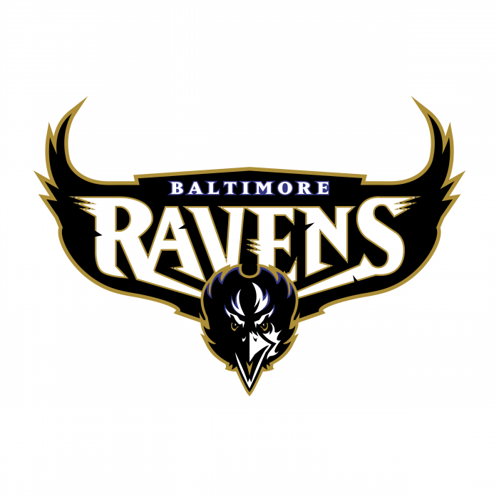 Baltimore Ravens logo black