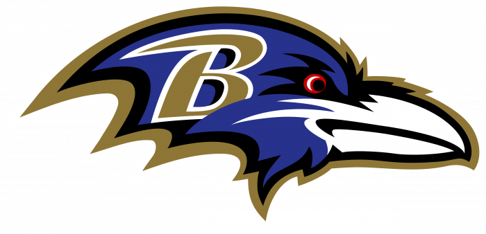 Baltimore Ravens logo blue