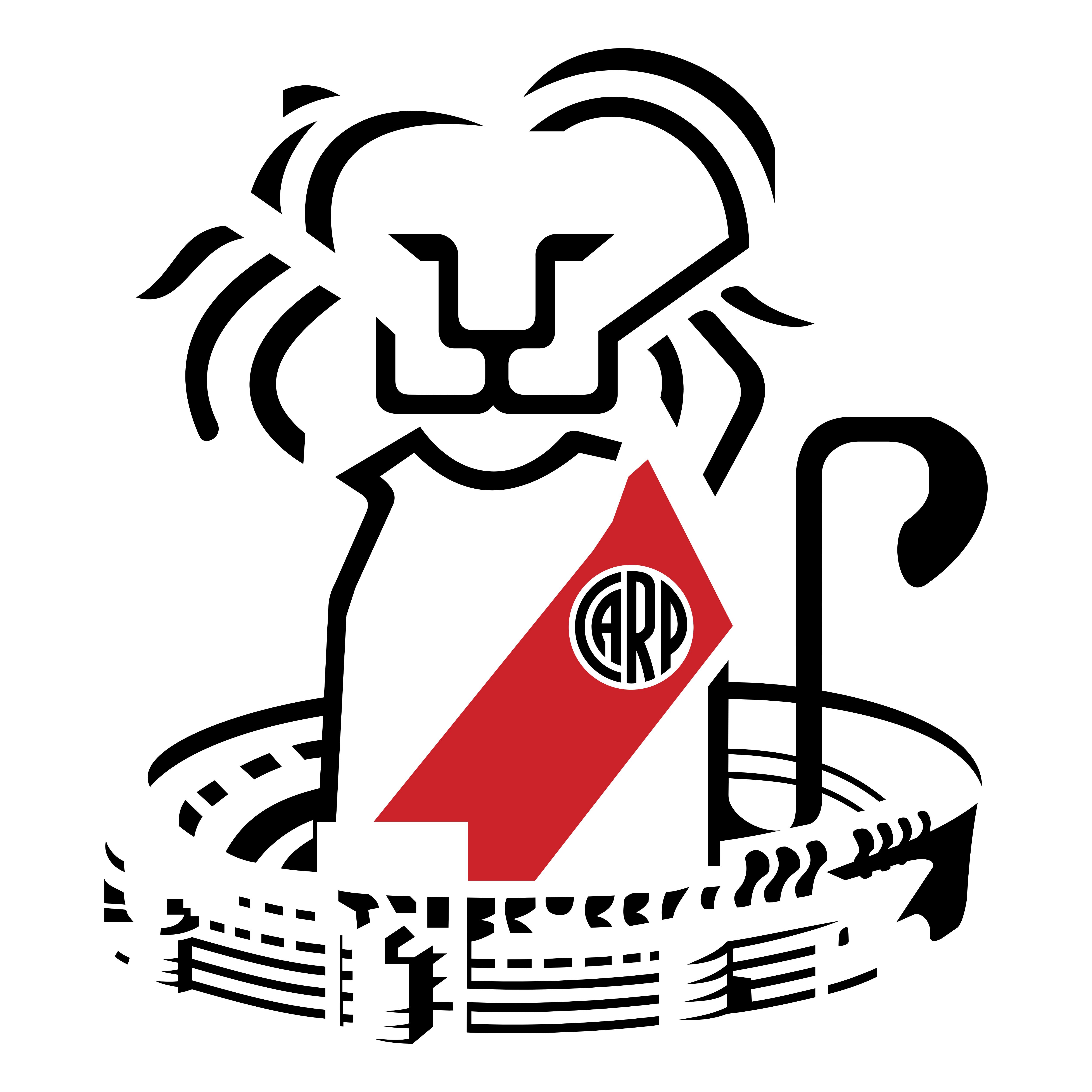 Carp Leo Logo on Boca Juniors Logo
