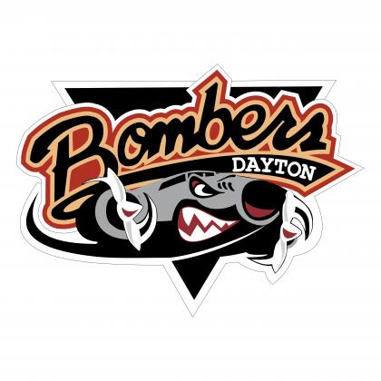 Dayton Bombers Logo X on Boca Juniors Logo