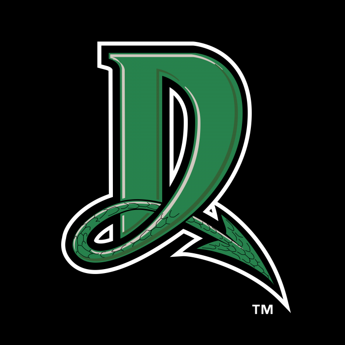 Dayton Dragons logo green