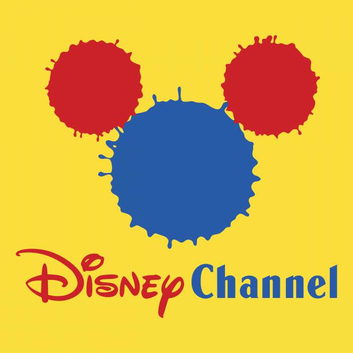 Disney Channel logo yellow