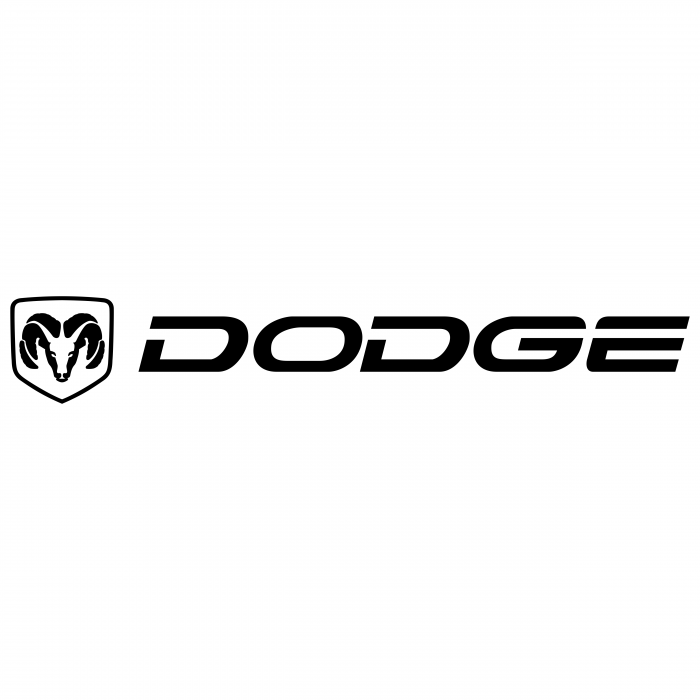 Dodge logo black