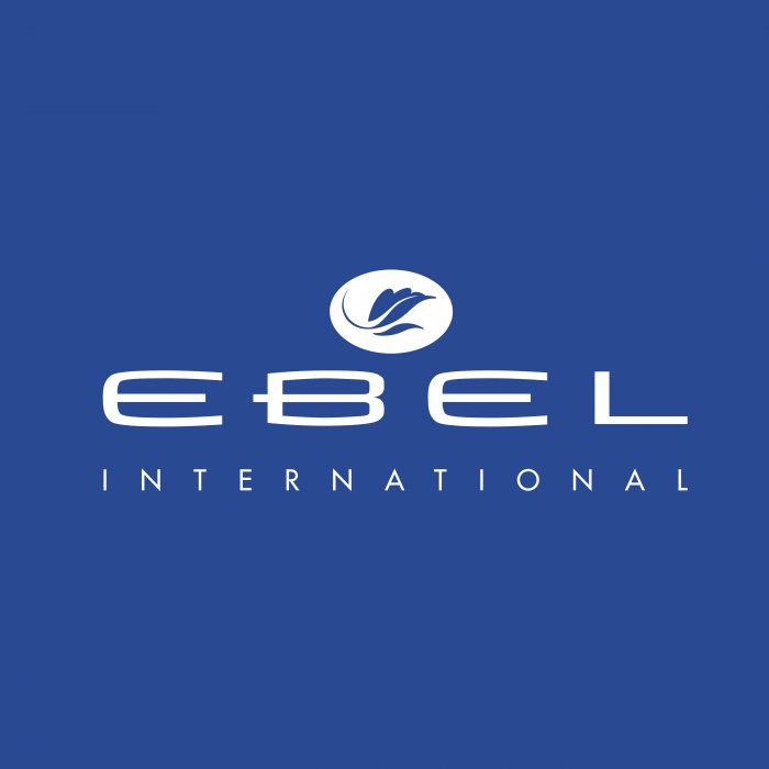 Ebel International logo blue