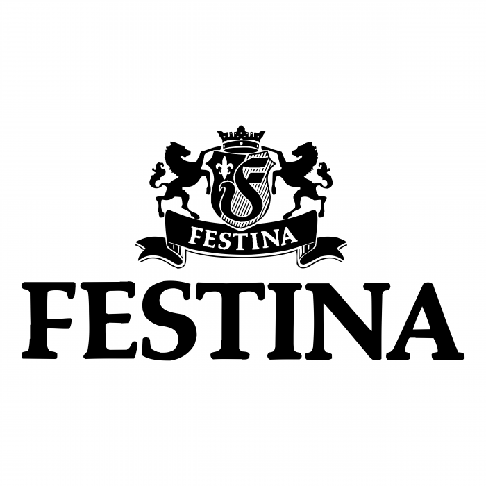 Festina Watches logo black