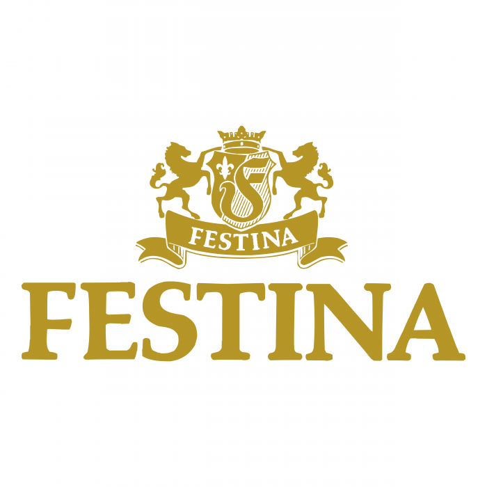 Festina Watches logo gold