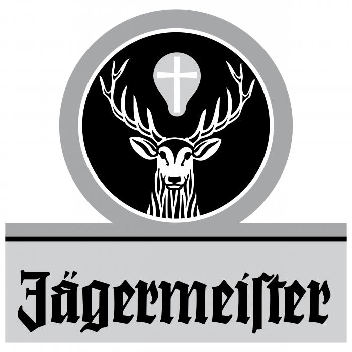 Jagermeister logo black