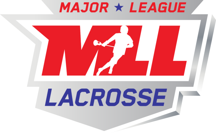 Major League Lacrosse Logo full color gradient