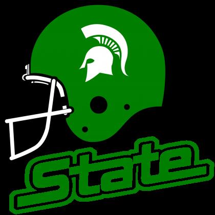 Michigan State Spartans Helmet logo