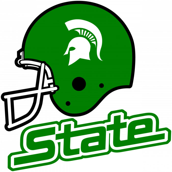 Michigan State Spartans Helmet logo
