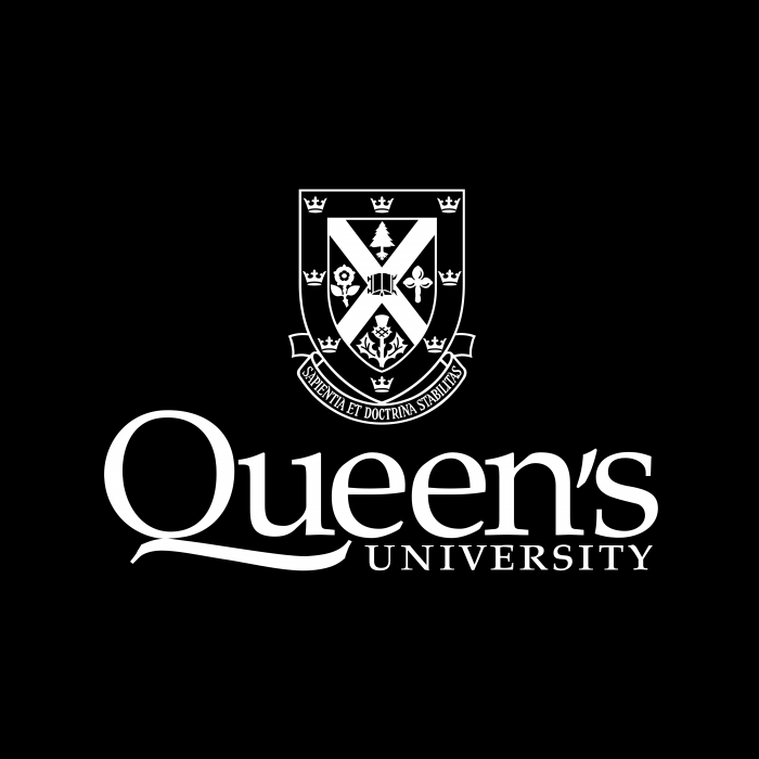 Queen's University logo black
