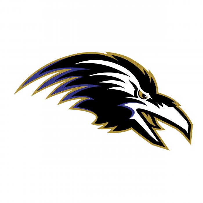 Ravens logo black