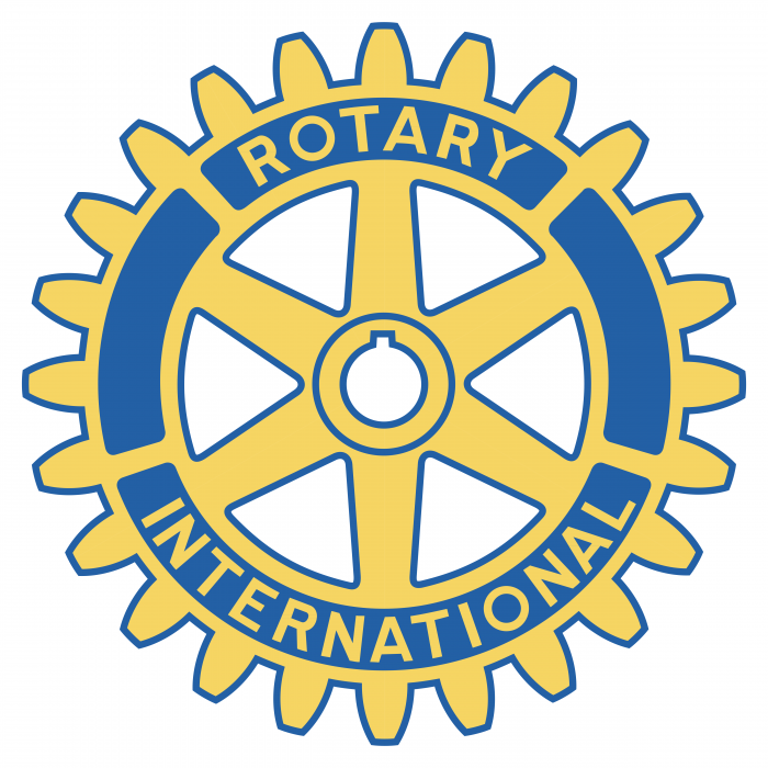 Rotary International logo yellow