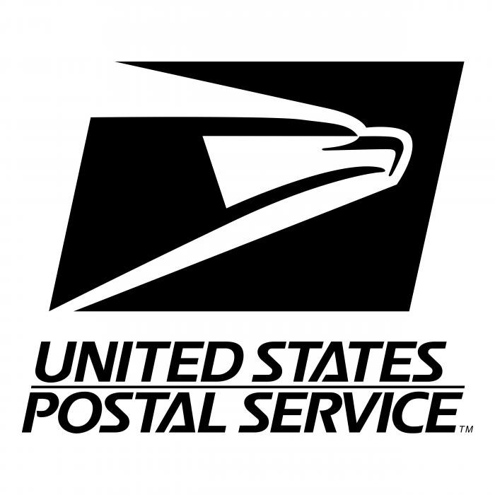 United States Postal Service logo black