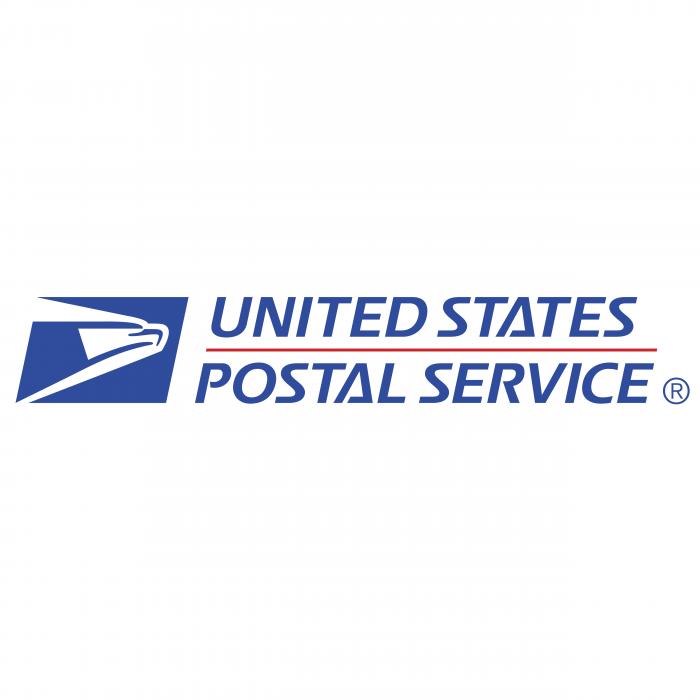 United States Postal Service logo blue