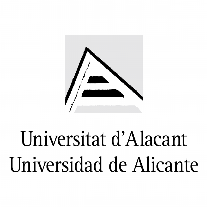 Universidad de Alicante logo black