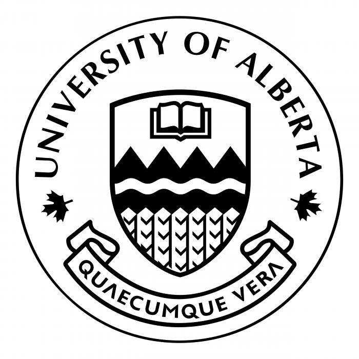 University of Alberta logo black