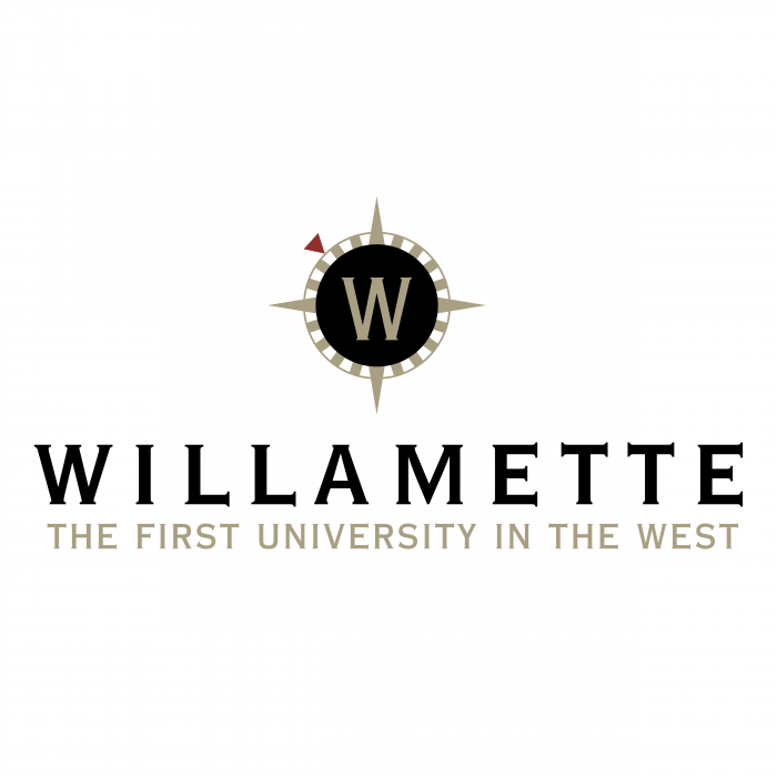 Willamette University 1st in the west logo