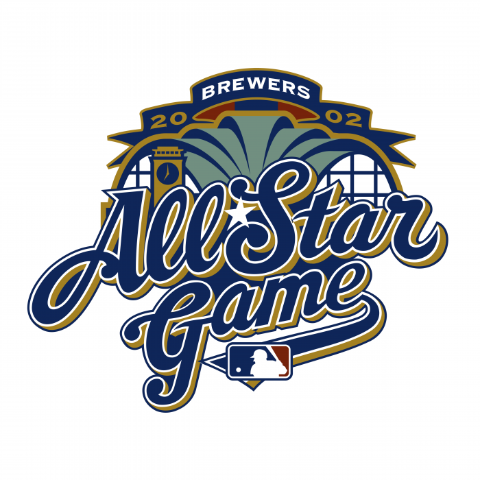 All Star Game 2002 logo blue
