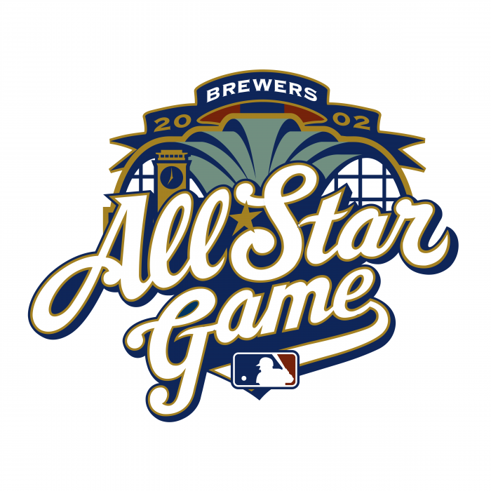 All Star Game 2002 logo white