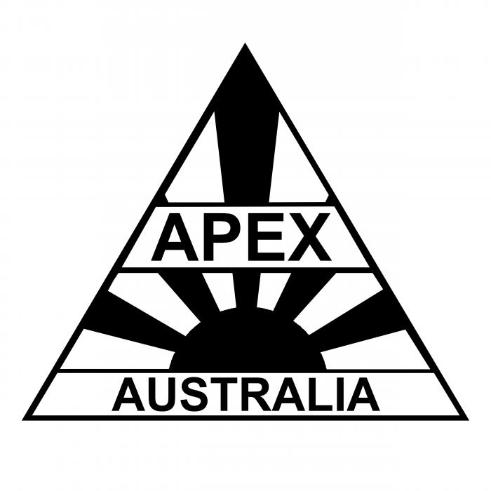 Apex Australia logo black