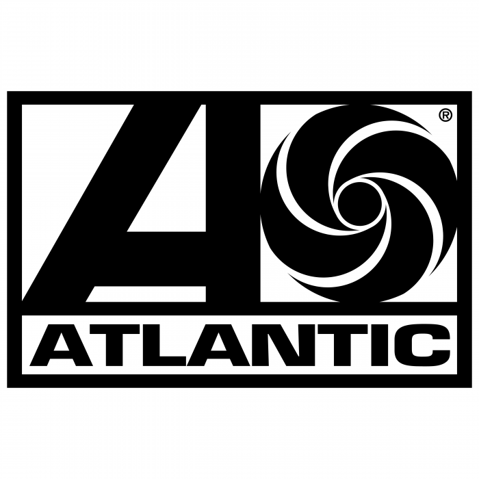 Atlantic Records logo black