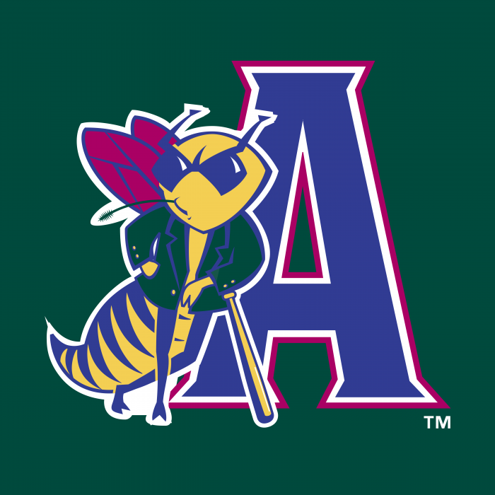 Augusta Greenjackets logo green