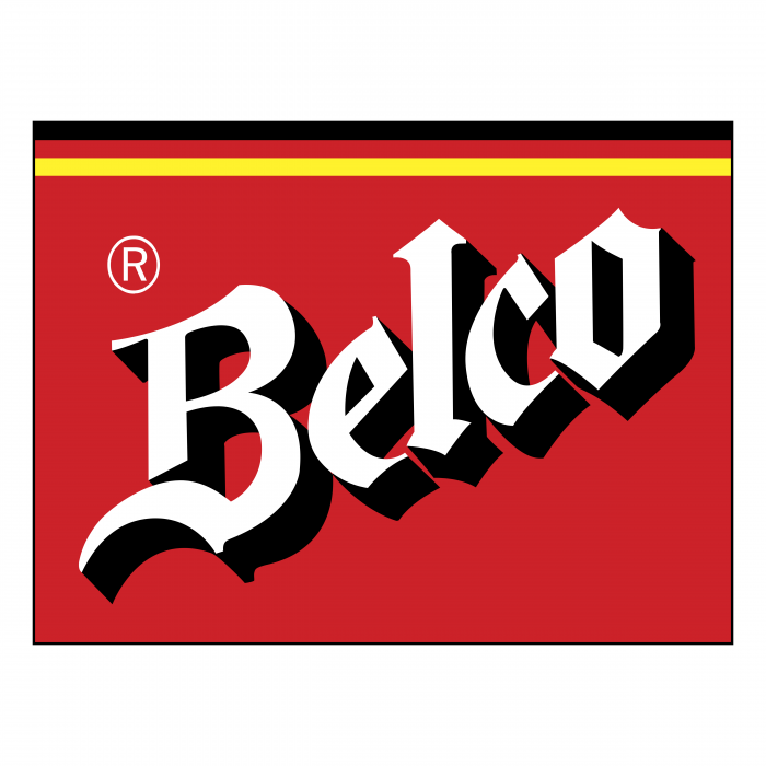Belco logo red