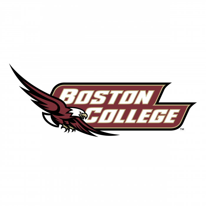 Boston College Eagles logo colored