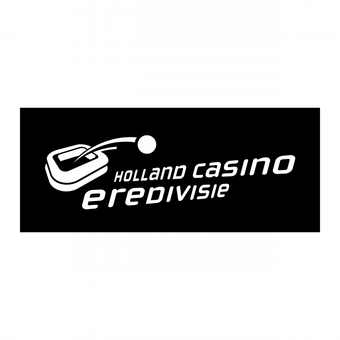 Holland Casino Eredivisie logo black