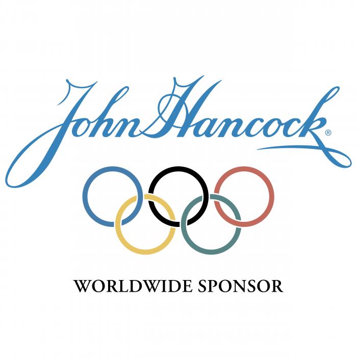 John Hancock logo olympic