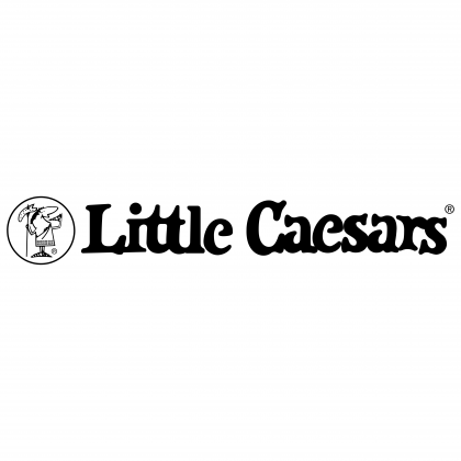 Little Caesars Pizza logo black