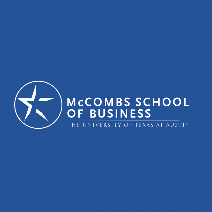 McComb's School of Business logo blue