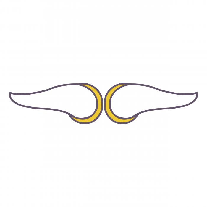 Minnesota Vikings logo horn