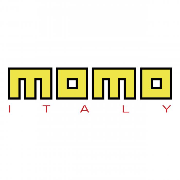 Momo Italy logo yellow