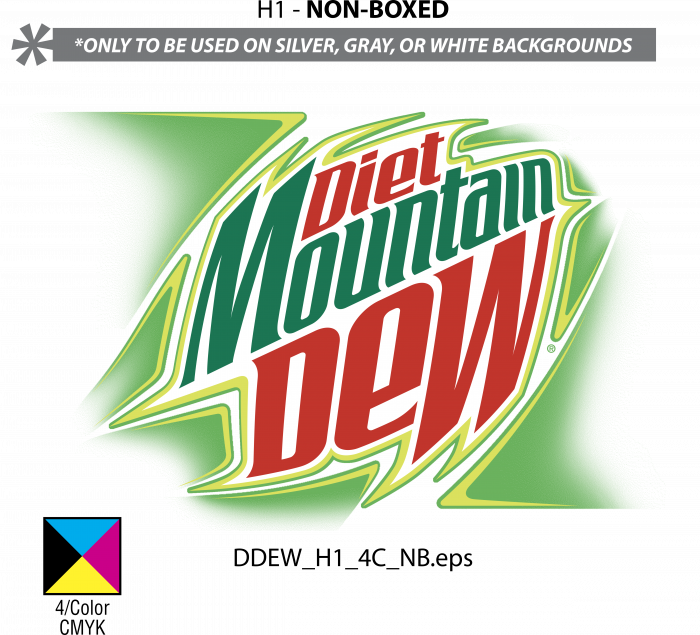 Mountain Dew Diet logo