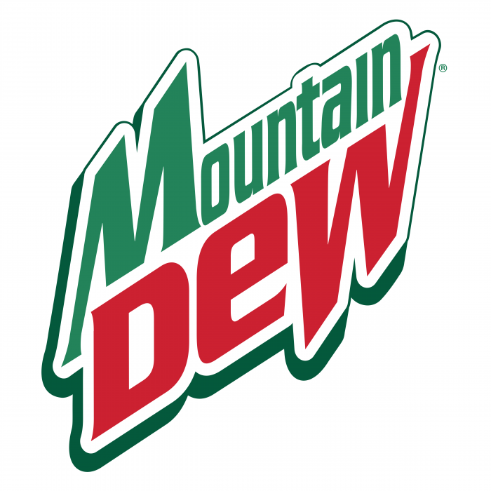 Mountain Dew logo green