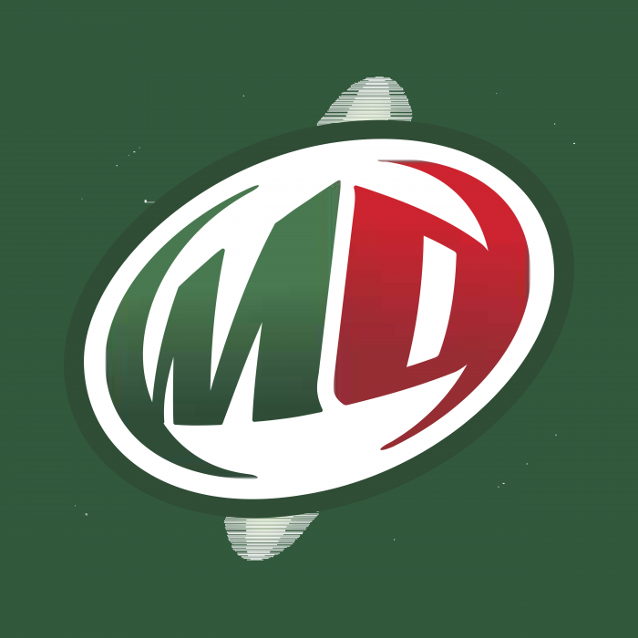 Mountain Dew logo green circle