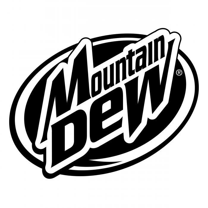 Mountain Dew logo oval