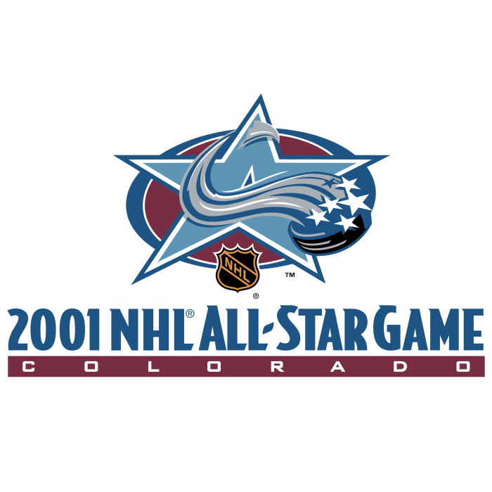 NHL All Star Game 2001 logo